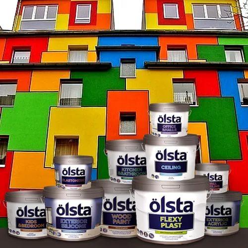 Каталог фасадных красок